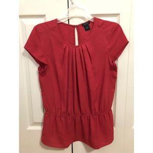 Classic Ann Taylor short sleeve blouse